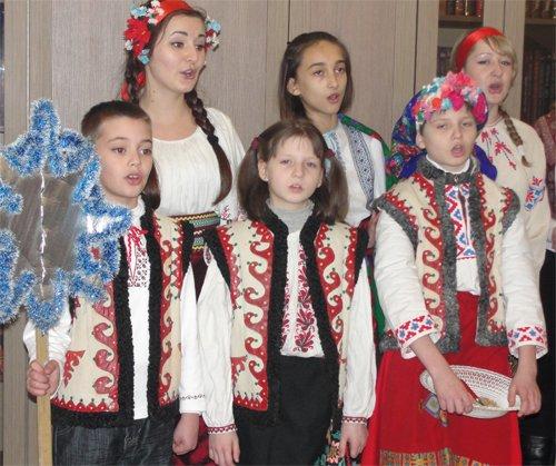 В день Старого Нового года в УМВД в Кировоградской области звучали щедривки, фото-1
