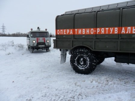 На Кировоградщине в снежную ловушку попала «скорая», которая спешила к 2-месячной девочке, фото-1