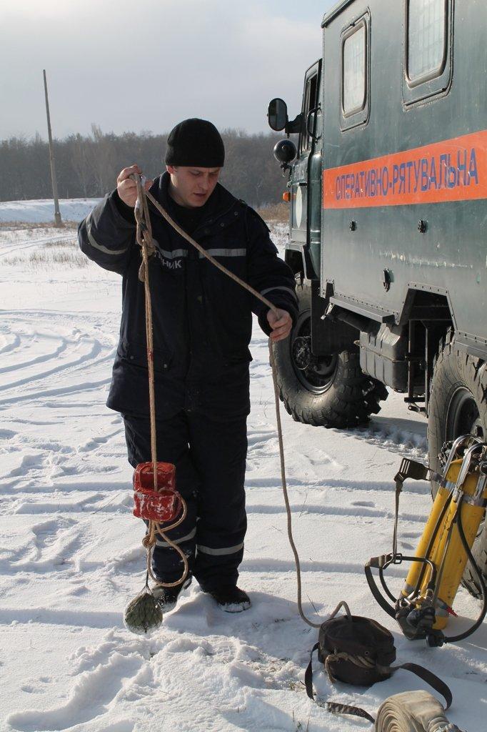 Рейд Сайта города Артемовска со спасателями: на зимней рыбалке не удалось «поймать» ни одного рыбака, фото-1