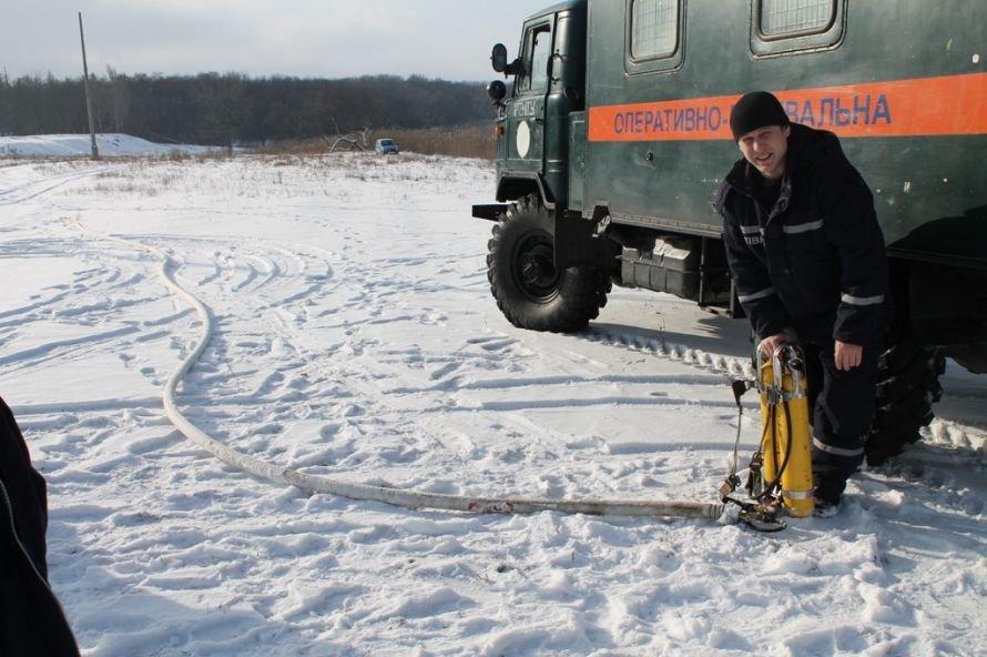 Рейд Сайта города Артемовска со спасателями: на зимней рыбалке не удалось «поймать» ни одного рыбака, фото-2