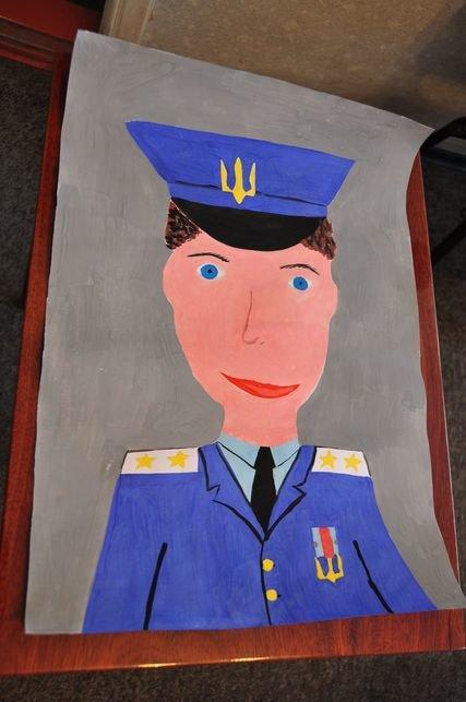УМВД Полтавщины объявляет конкурс детского рисунка на тему: «Мой участковый инспектор», фото-1
