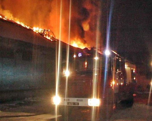 Луганское предприятие опровергает информацию о пожаре на своем складе, фото-1