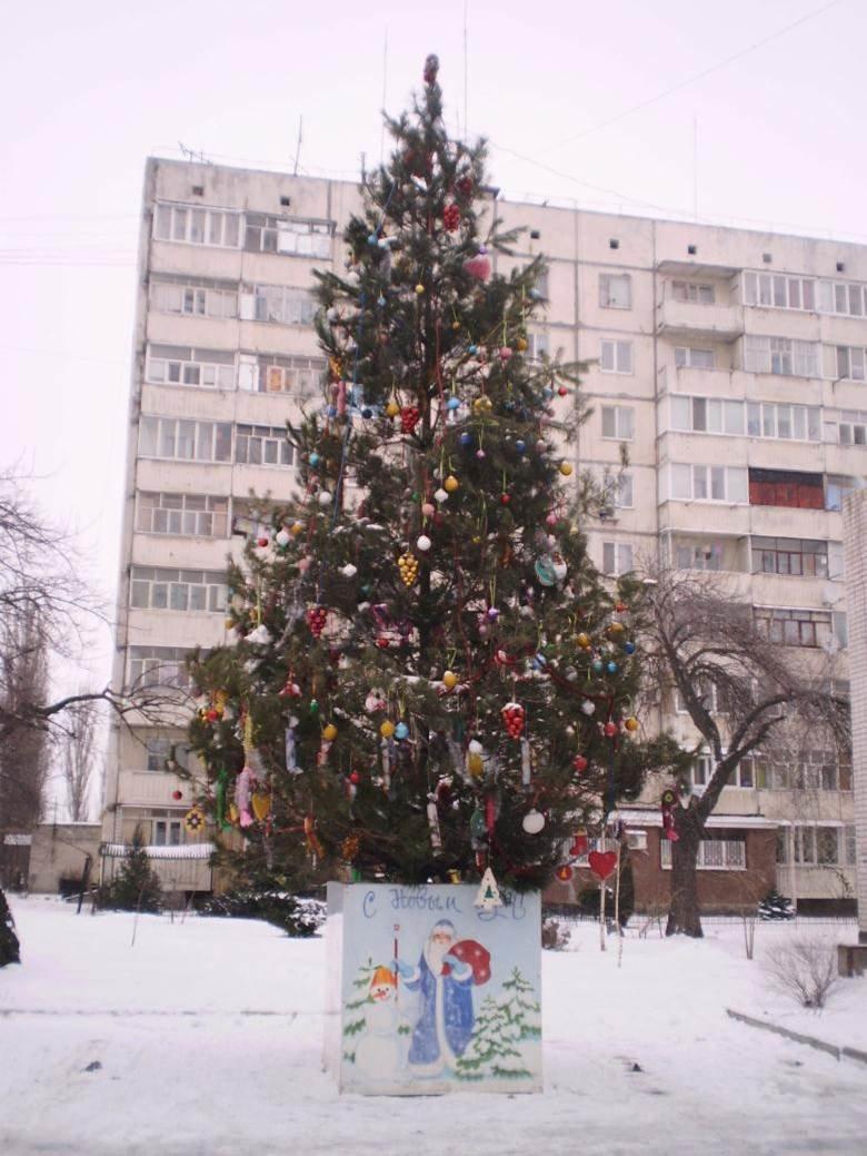 В Автозаводском районе Кременчуга подвели итоги конкурса на лучшую ёлку (ФОТО), фото-7