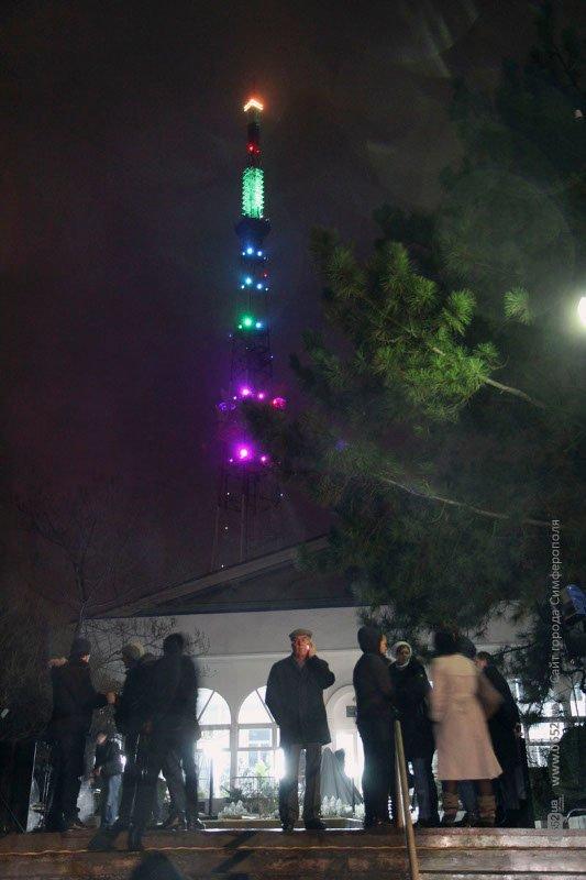 В Симферополе появилась своя Эйфелева башня (ФОТО), фото-2