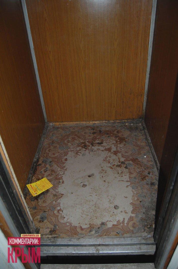 «Президентский» дом в Симферополе превратился в туалет (ФОТО), фото-1