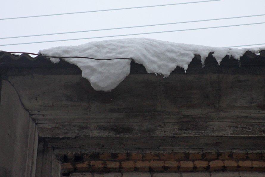 Донецк сегодня испытал «бомбежку» сосульками (фото), фото-1