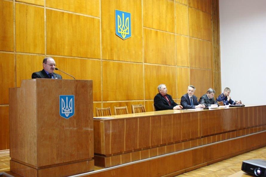 В Крюковском районе Кременчуга подведены итоги выполнения плана основных мероприятий ГО, фото-1