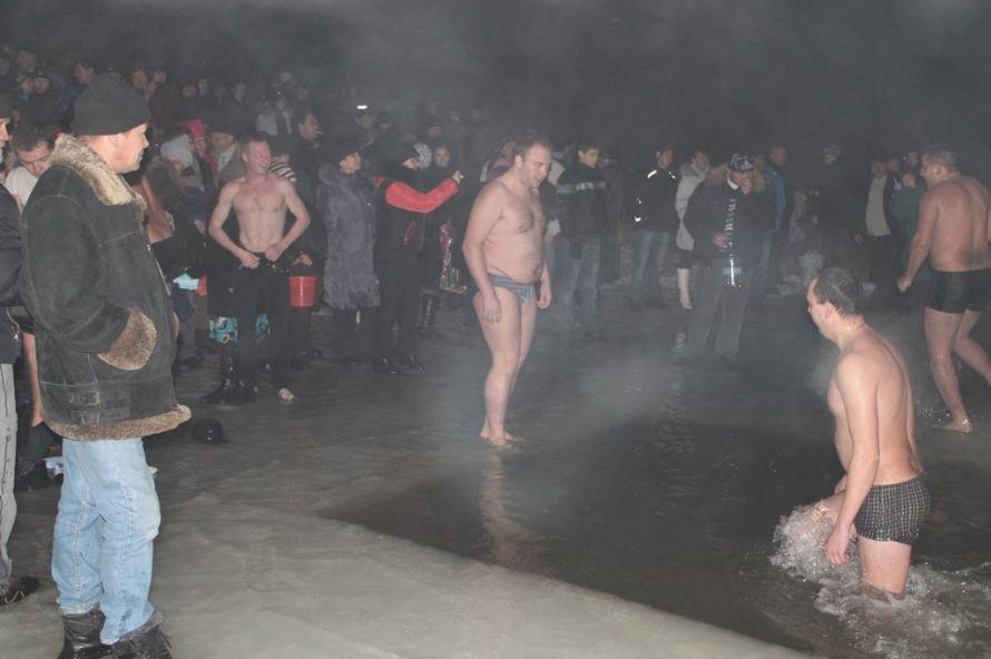 Артемовцы окунулись в крещенскую купель (ФОТО), фото-3