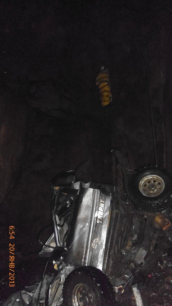 В крымской пещере на спелеологов рухнул автомобиль (ФОТО, ВИДЕО), фото-1