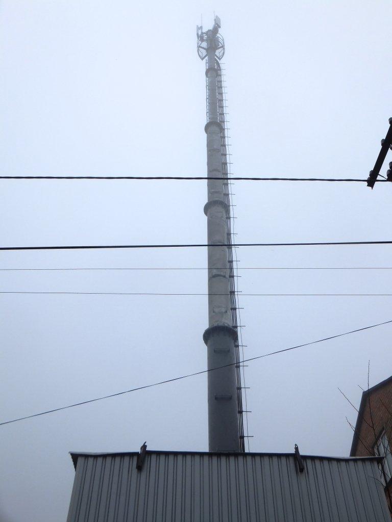 В Кировограде во время акции протеста сжигали стартовые пакеты МТС, фото-1