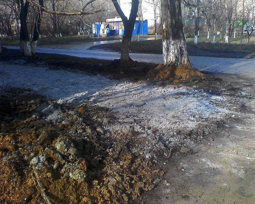 В Мариуполе «кашу» на Сеченова «сдобрили» шлаком (ФОТО), фото-1