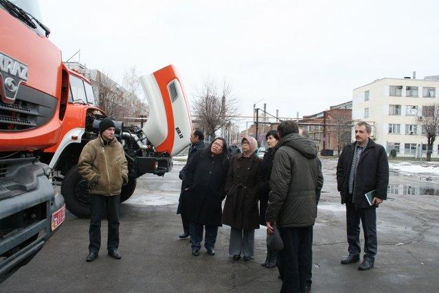 Посол Республики Индонезия посетила Кременчугский автомобильный завод, фото-1