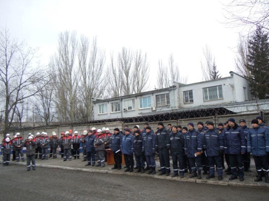 Криворожские МЧСники вчера устроили «условный» взрыв на ИнГОКе (ФОТО), фото-5
