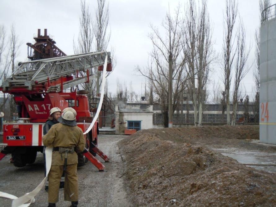 Криворожские МЧСники вчера устроили «условный» взрыв на ИнГОКе (ФОТО), фото-2