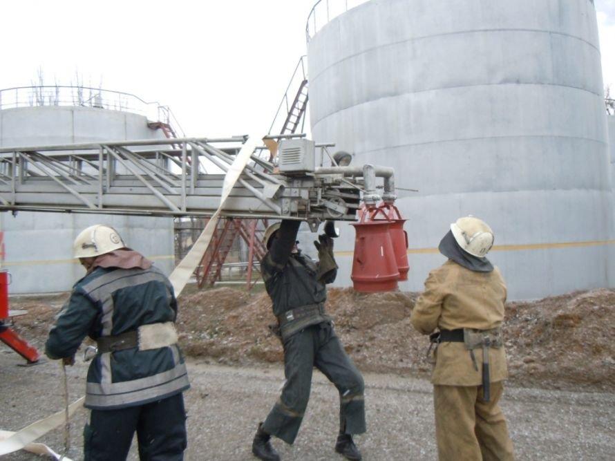 Криворожские МЧСники вчера устроили «условный» взрыв на ИнГОКе (ФОТО), фото-3