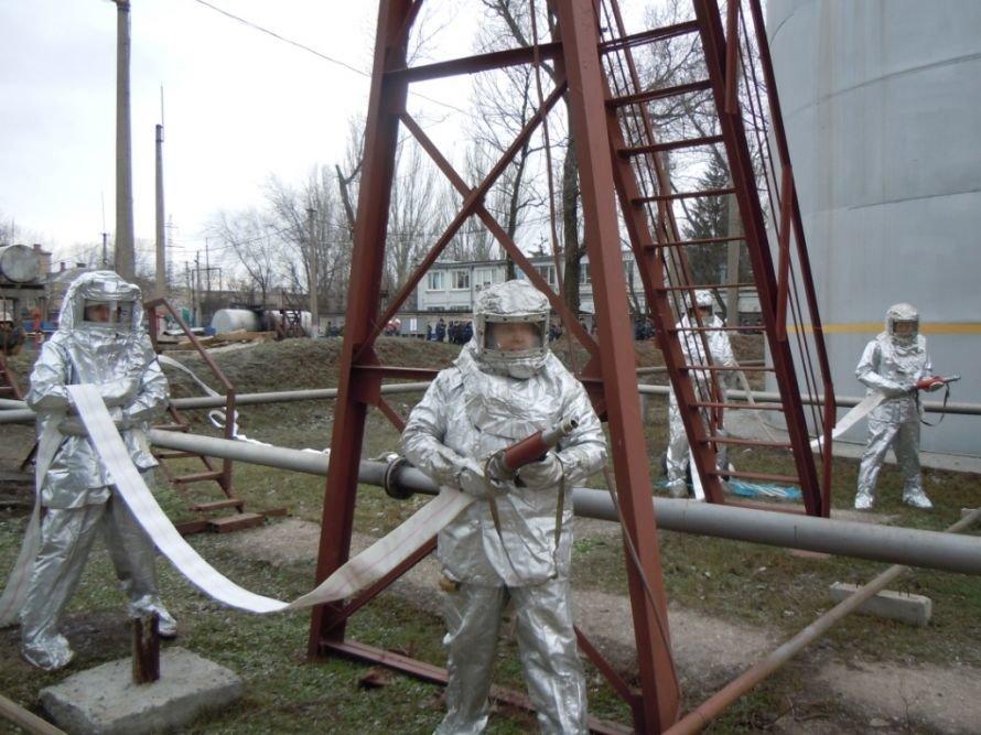 Криворожские МЧСники вчера устроили «условный» взрыв на ИнГОКе (ФОТО), фото-4