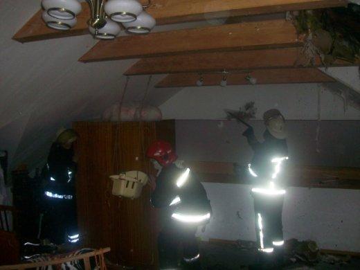 У Клевані загорівся триповерховий будинок (ФОТО), фото-3