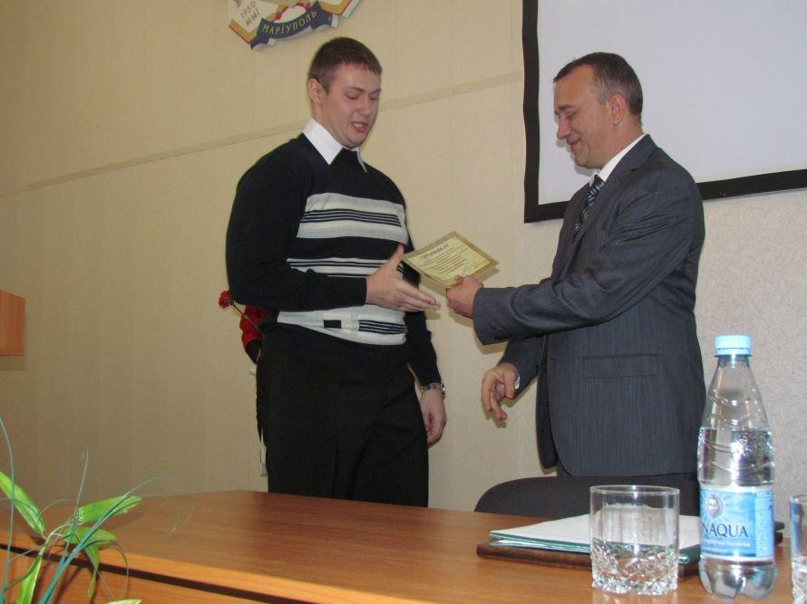 Для студентов ПГТУ главный ильичевец Юрий Зинченко учредил стипендию (ФОТО), фото-2