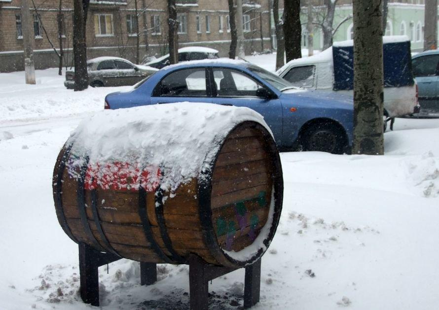 Донецк замело снегом (фото), фото-1