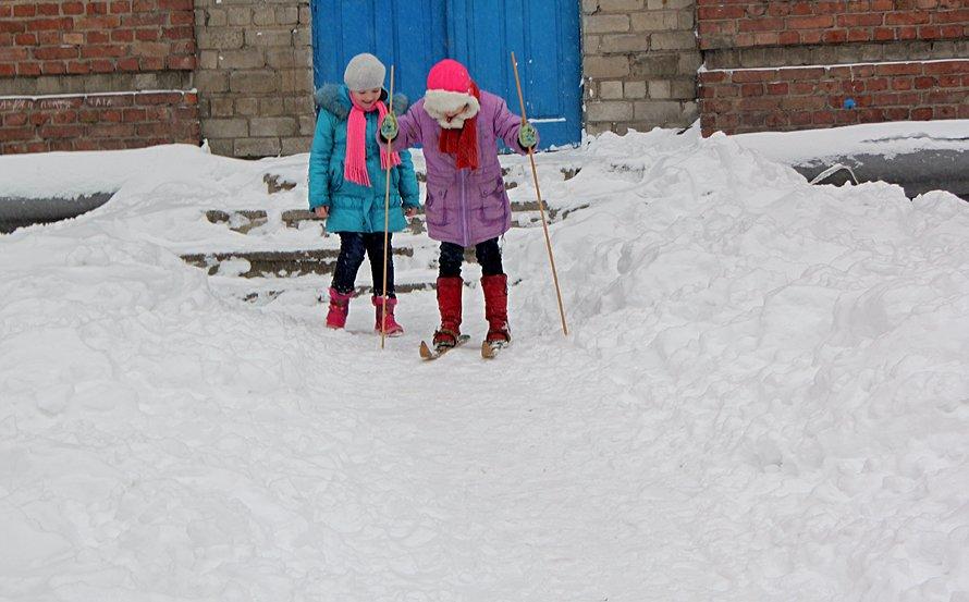 Итоги выходных в Донецке: Утомленные снегом (фото), фото-3
