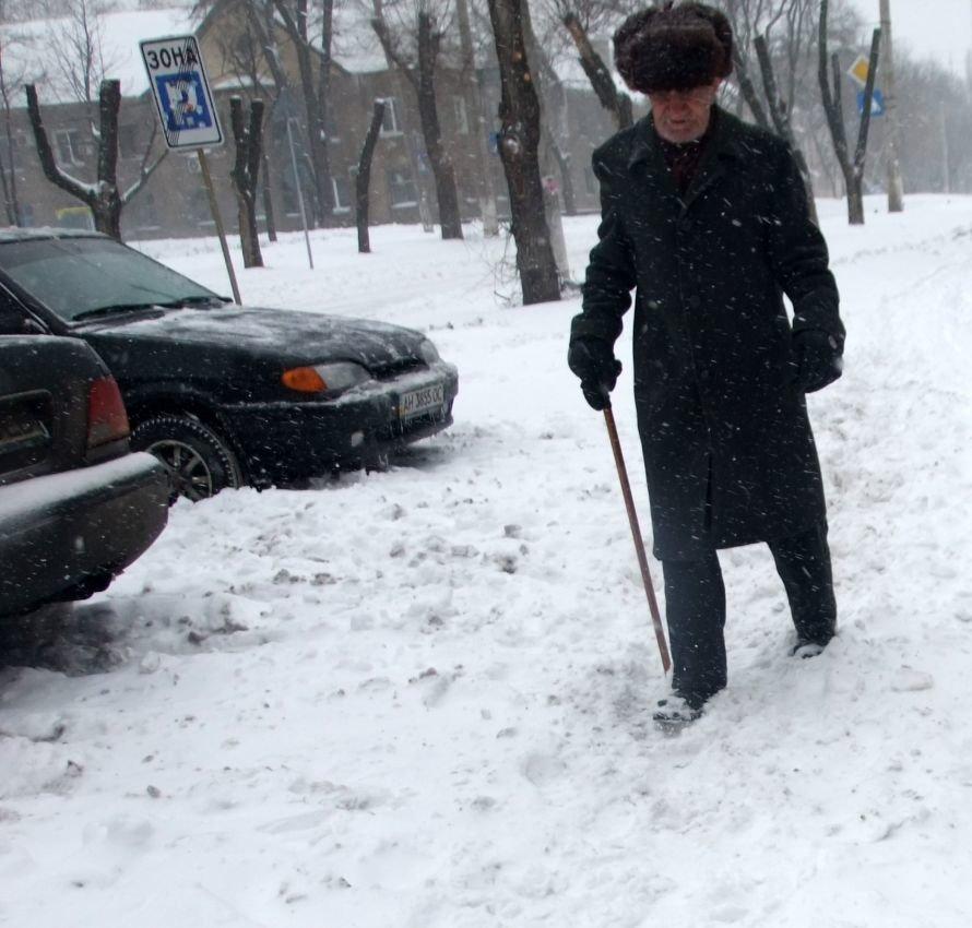 Итоги выходных в Донецке: Утомленные снегом (фото), фото-2