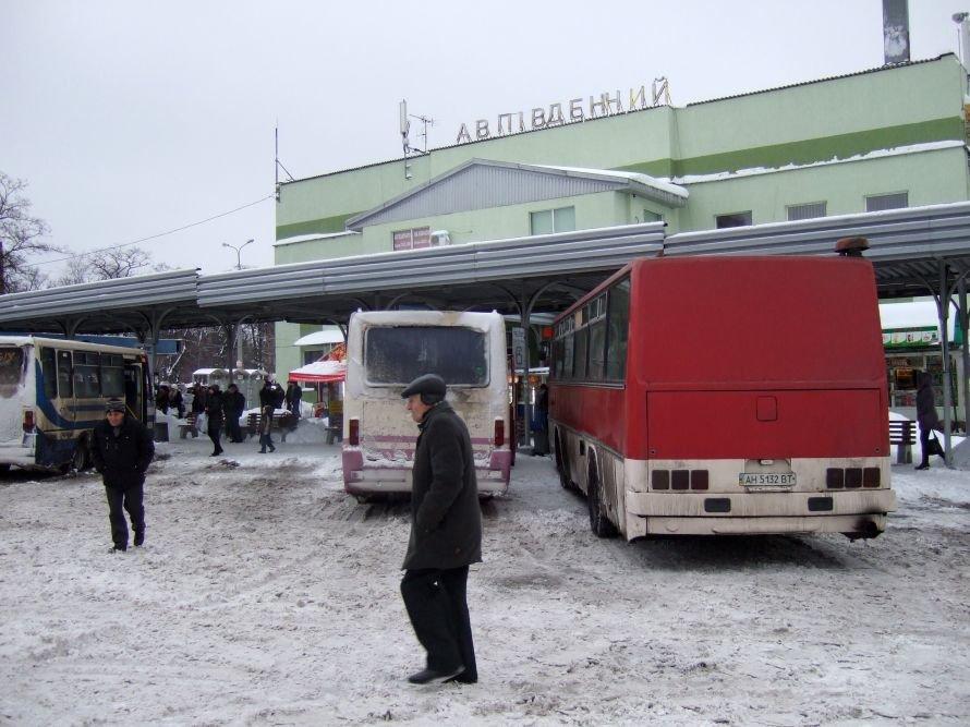 Автобусов «Донецк-Горловка» на автовокзале «Южный» люди ждали вчера по часу, фото-2