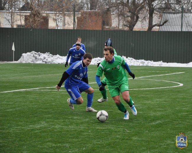 Вчера на «Кремень-арене» состоялся контрольный матч «Кремень» - «Полтава» 1:2, фото-1