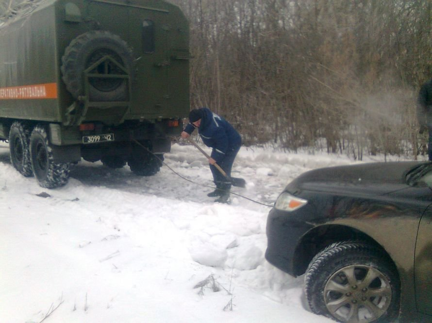 На Кировоградщине «Икарус» с пассажирами попал в снеговую ловушку, фото-1