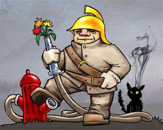 Сегодня - День работников пожарной охраны, фото-1