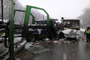 На Полтавщине  врезался грузовик: 9 пассажиров пострадали (фото) - фото 2