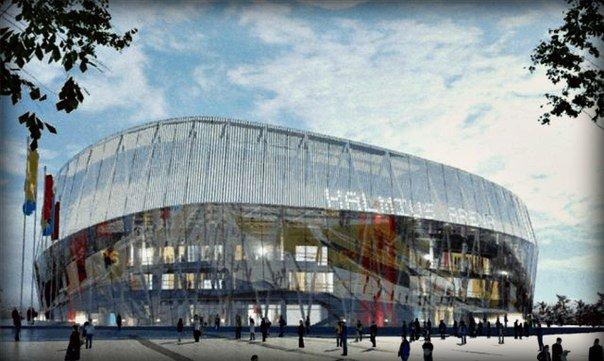 Стало известно, как будет выглядеть новая хоккейно-баскетбольная арена в Донецке, фото-1