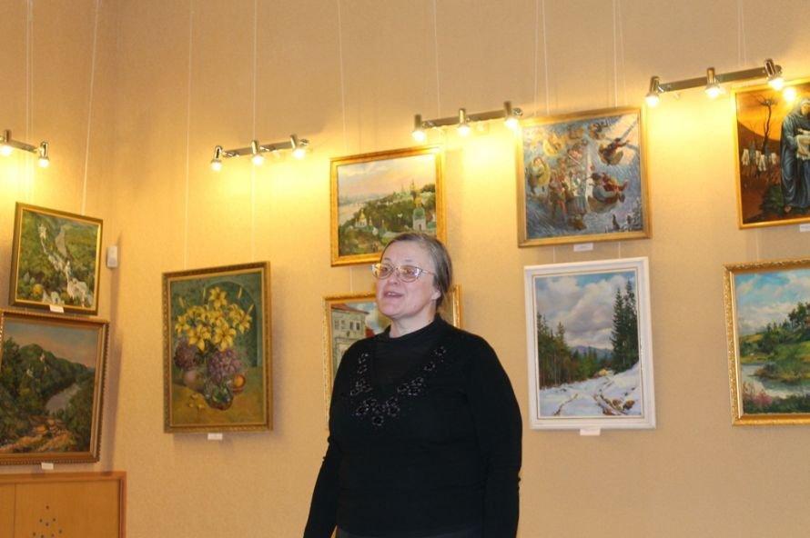 Артемовцев покорили акварельные пейзажи Анатолия Дерезы, фото-1