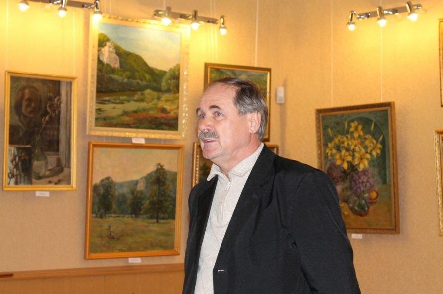 Артемовцев покорили акварельные пейзажи Анатолия Дерезы, фото-2