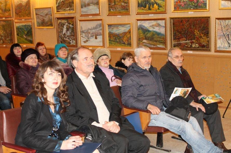 Артемовцев покорили акварельные пейзажи Анатолия Дерезы, фото-11