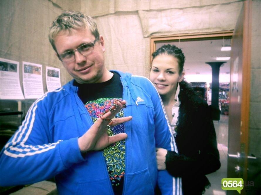 В проекте «Лица»: Дмитрий и Светлана Бычковские, питониха Машенька и нильский крокодил Данди (ФОТО), фото-1