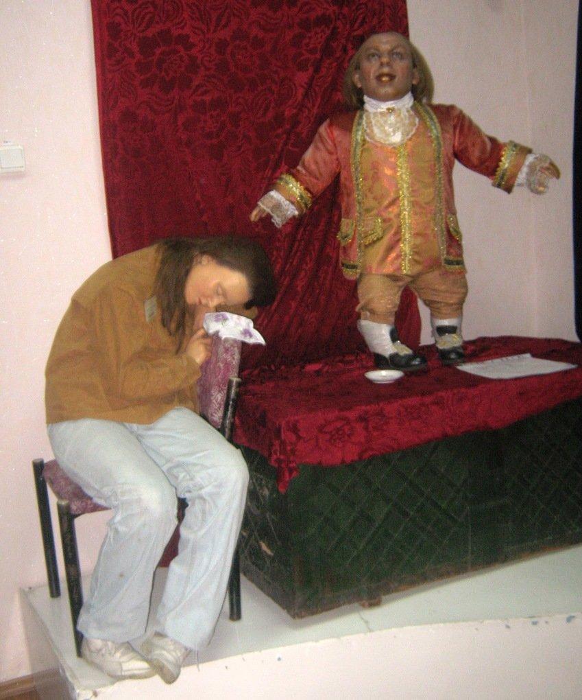 В Красноармейском музее поселились восковые фигуры, фото-1