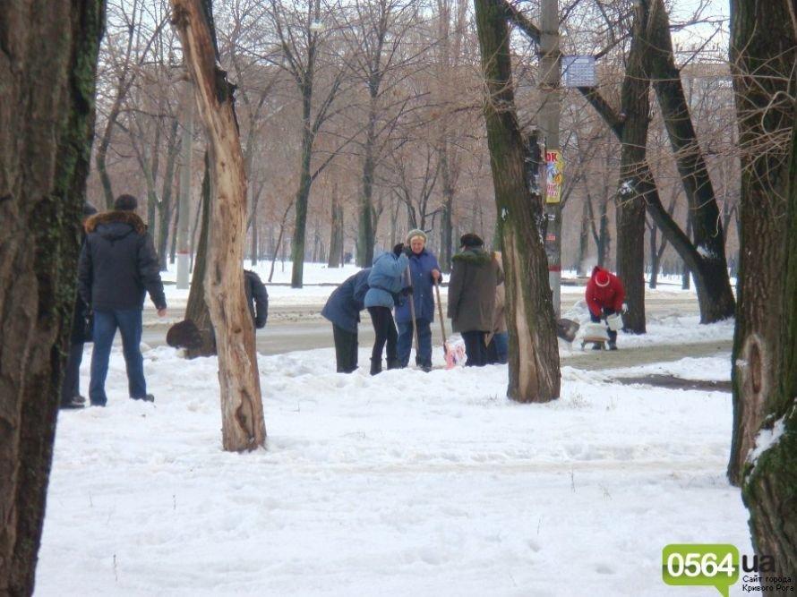 В Кривом Роге работников ЖЭКа «выгнали» на уборку территории: «Мэр едет!» (ФОТО), фото-2
