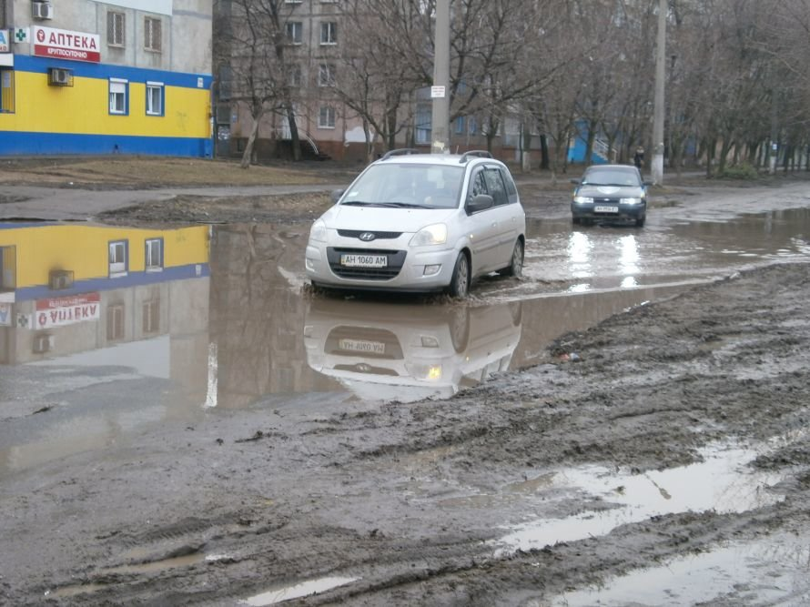 В Мариуполе жители пр. Строителей годами ждут капремонта дороги (ФОТО), фото-1