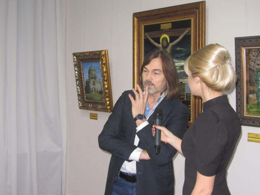 VIP-персоны пожаловали на открытие выставки Никаса Сафронова в Днепропетровске (ФОТОРЕПОРТАЖ), фото-4