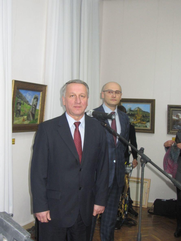 VIP-персоны пожаловали на открытие выставки Никаса Сафронова в Днепропетровске (ФОТОРЕПОРТАЖ), фото-5