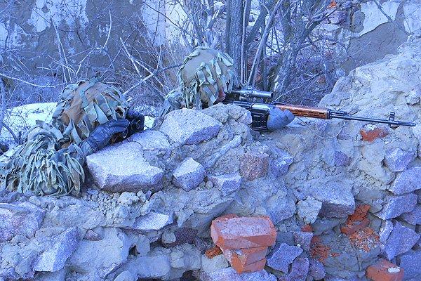 Мариупольские снайперы провели учебный сбор (ФОТО), фото-7
