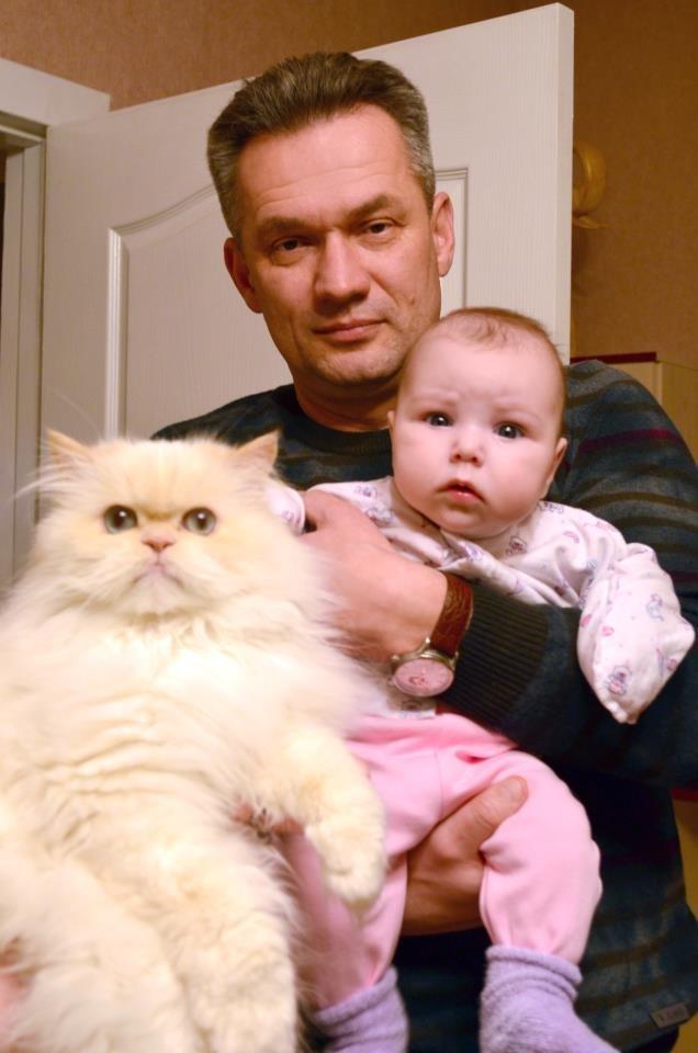 ткаченко и кот