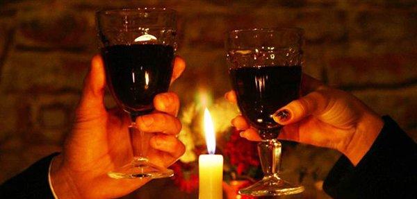 Romantic Dinner Candles