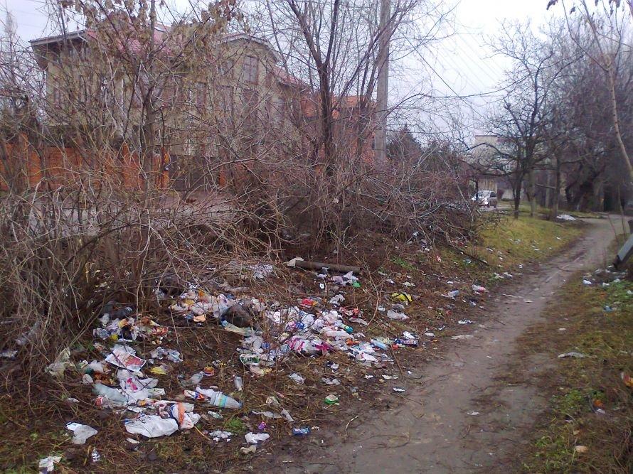 дом мусор