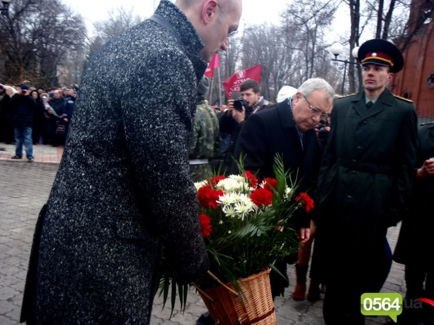 В Кривом Роге почтили память погибших воинов-интернационалистов, а главный регионал города не хотел говорить с инвалидом-афганцем (ФОТО), фото-11