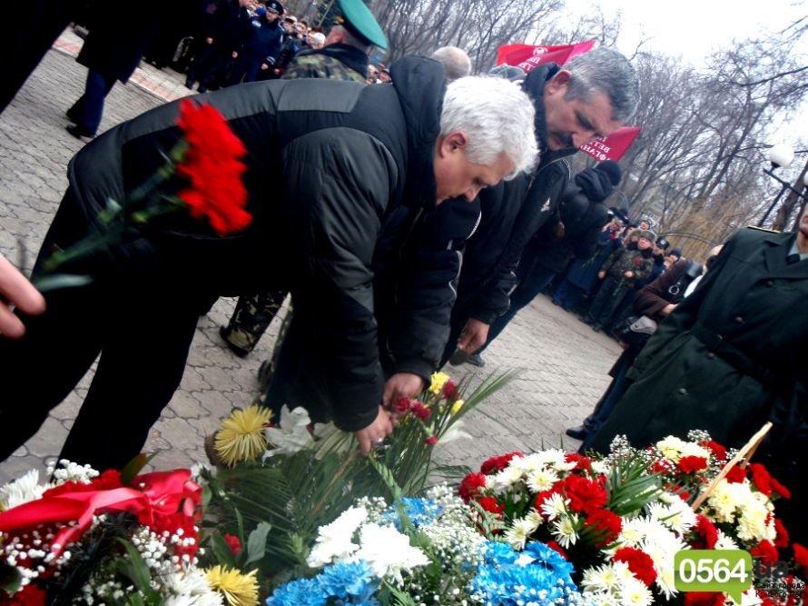 В Кривом Роге почтили память погибших воинов-интернационалистов, а главный регионал города не хотел говорить с инвалидом-афганцем (ФОТО), фото-13