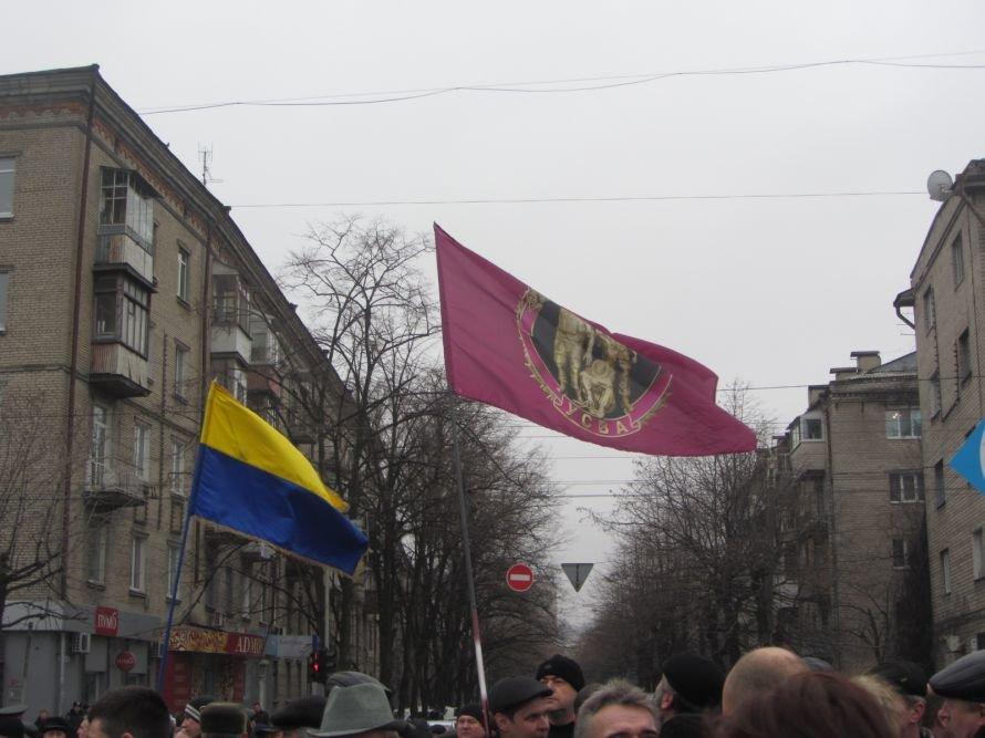 На набережную Днепропетровска вывели солдат и бронетехнику (ФОТОРЕПОРТАЖ), фото-2