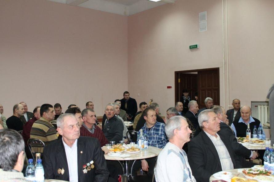 В Артемовском клубе ветеранов вручали медали афганцам, фото-1
