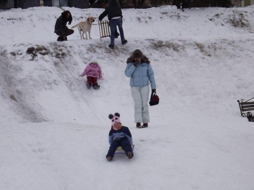 На Святі зими у Тернополі квадроцикл перевернувся на очах у дітей (відео, фоторепортаж), фото-6