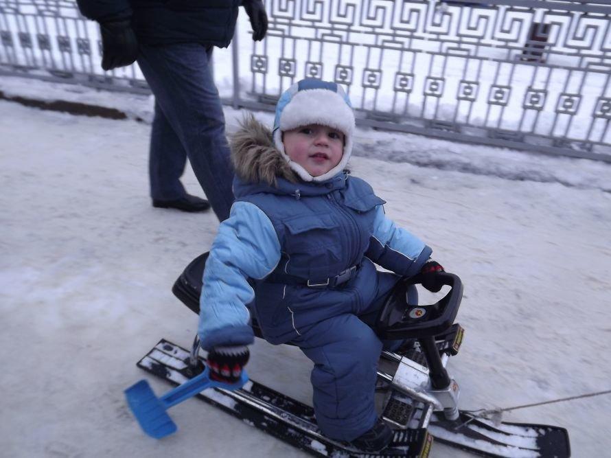 На Святі зими у Тернополі квадроцикл перевернувся на очах у дітей (відео, фоторепортаж), фото-30